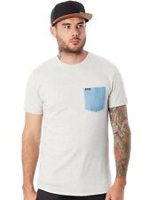Camiseta con bolsillo Volcom Contra Pocket Heather Gris