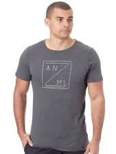 Camiseta Animal Locate Dark Gris Marl