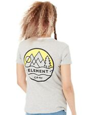 Camiseta mujer Element Camp Ringer Heather Gris