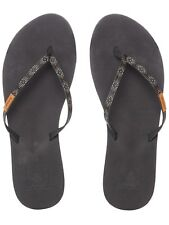 Chanclas mujer Reef Slim Ginger Beads Negro