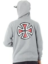 Sudadera con capucha Independent Bar Cross Dark Heather
