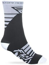 Calcetines MX Fly Racing 2018 Factory Rider Blanco-negro