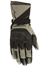 Guantes moto en piel Alpinestars Andes Touring Outdry Military Verde-negro