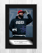 Fred Durst Limp Bizkit A4 signed mounted photograph poster. Choice of frame.