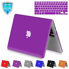 Rubberized Hard Matte Shell Case with Keyboard Skin for Apple MacBook Air 13