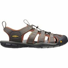 Keen Clearwater Cnx Homme Chaussures Tongs - Raven Tortoiseshell Toutes Tailles