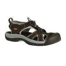 Keen Venice Femme Chaussures Tongs - Black Olive Surf Spray Toutes Tailles