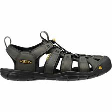 Keen Clearwater Cnx Leather Homme Chaussures Tongs - Magnet Black Toutes Tailles