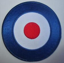 SCOOTER MOD PATCH - MOD TARGET - 4 SIZES - 50,75,100 OR 200MM DIA FOR PARKA ETC