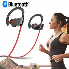 Sweatproof Headphones Wireless Bluetooth Sport Earphones In-Ear Stereo Headset