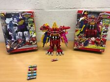POWER RANGERS DINO CHARGE DX DELUXE MEGAZORD NEW PLESIO DINO CHARGERS