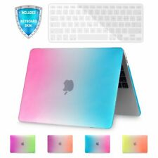 Rubberized Plastic Hard Shell Case Keyboard Cover For Apple MacBook Air 11 Inch