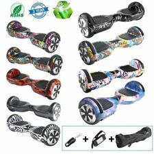 "HOVERBOARD LUCI LED SPEAKER E BLUETOOTH SCOOTER OVERBOARD 9 COLORI 6,5"" @XFL"