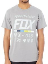 Camiseta Fox Draftr Heather Dark Gris