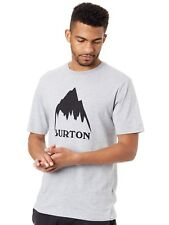 Camiseta Burton Classic Mountain High Gris Heather