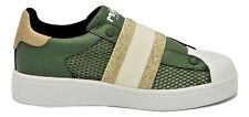 MOA sneakers donna M510 M08B GOLD ELASTIC/GREEN