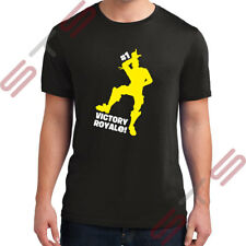 FORTNITE VICTORY ROYALE BATTLE GAMING T-SHIRT PS4 XBOX GAMER YOUTUBER TSHIRT TEE
