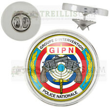 Pin's Police GIPN Groupe d'Intervention de la Police Nationale 20mm Pins Bouton