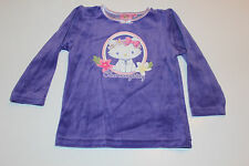 velours enfants vêtements de nuit Lot pyjamas fille Charmmy Kitty Violet 98 104
