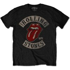The Rolling Stones Tongue and Lips Tour 78 Jagger Official Black Mens T-shirt