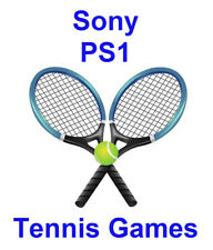 Tennis Sony PlayStation PS1 Games Choose Your Game From the List