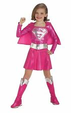 Child DC Comics Pink Supergirl Girls Costume Rubies New Official Superman