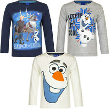 NEUF MAILLOT MANCHES LONGUES FILLE HAUT PULL REINE DES NEIGES 98 104 110 116