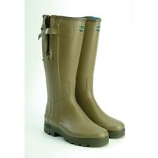 Mens Le Chameau Chasseur wellies/wellington (leather lined) - all sizes - new