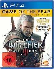 The Witcher 3 Wild Hunt Game of the Year Edition PlayStation 4 PS4 DEUTSCH NEU