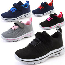 New Kids Boys Girls Running Sneakers Sports Gym Lightweight Breathable Shoes