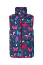 Mountain Warehouse Girls Padded Gilet Water Resistant Fabric&Microfibre Filling