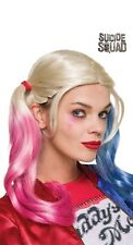 Perruque HARLEY QUINN Suicide Squad Adulte Licence Officielle