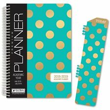 HARDCOVER Academic Year Planner 2018-2019 (Turquoise)