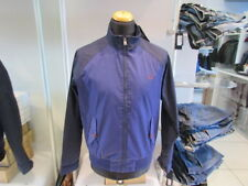 Giubbotto giacca Fred Perry uomo medievale Ealing blu (mod. woolrich, colmar)