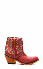 Stivaletto by Liberty Black rosso vintage cowboyboots bottes texani western
