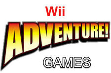 Adventure Nintendo Wii Games Choose Your Game From The List