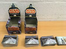 STAR WARS TRILOGY COLLECTION MERLIN CARD SET COMPLETE AND BOX YOU CHOOSE