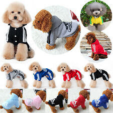 Pet Dog Super Warm Fur Winter Coat Adidog Jumpsuit Hoodie Sport Jacket Clothing