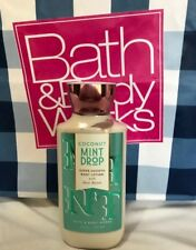 Bath and Body Works SUPER SMOOTH BODY LOTION COCONUT MINT DROP 236 ml /  8oz