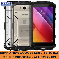 DOOGEE S60 Lite Triple Proofing Phone 4GB 32GB Android 4G Smartphone Black Gold