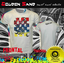 Camiseta surf skate Golden Sand. T-shirt Eduard