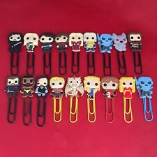 A Game of Thrones - Bobblehead Cartoon Bookmark Paperclip - Stark Targaryen NEW