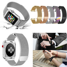 Stainless Magnetic Metal Wrist Band Milanese Strap for Apple Watch Series 38/42