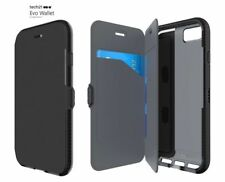 Genuine Tech21 Evo wallet flip card holder book case cover apple iphone 6 6s 7 8