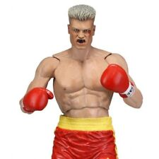 NECA ROCKY BALBOA ANNIVERSARY Serie 2 IVAN DRAGO RED TRUNKS NEW NUOVO