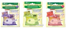 Clover Desk Needle Threader Automatic Fabric Craft Sewing - Choice of 3 Colours