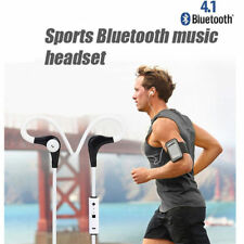 Bluetooth 4.1 Sweatproof Wireless Earphone Headphones with Mic Sport Gym Headset