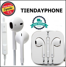 AURICULARES IPHONE white compatible micro IPHONE 5,6,6S ANDROID SAMSUNG XIAOMI
