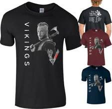 Vikings T Shirt World Tour Ragnar Lothbrok lagertha Rollo Floki Top Men Ladies