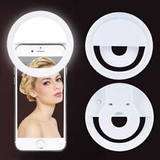 Selfie Portable LED Ring Fill Light Camera Rechargeable iPhone Android Phone New